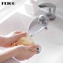 FEIGO 5 цветов кран Extender для ванны Детские воды резиновая Ручная стирка Ванная комната Аксессуары раковина подарок модные Кухня гаджеты F64 No name 32860254805