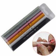 Горячая Распродажа! 6 шт. инструменты для дизайна ногтей набор различных размеров форма кривая стержень палочки Искусственные ногти инструмент для формирования палки + бесплатная доставка FWC 32788382300
