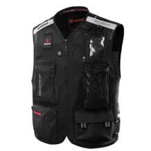 Scoyco jk46 Светоотражающая одежда мотоциклов отражая Гонки Защитный Жилет visbility мото безопасности мотоцикл свет No name 32617819176