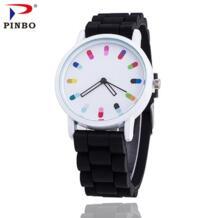 2016 Последние Прохладный анимация мужчины женщины лучший бренд класса люкс кварц резиновая часы A93 детские наручные часы Reloj Mujer PINBO 32758699348