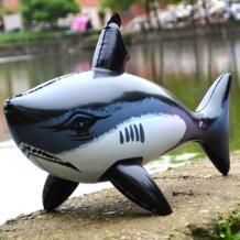 Надувные модель Shark Море надувной Животные жестокое черные акулы Висячие предметы интерьера ПВХ игры для детей на открытом воздухе Play подарки No name 32686295205