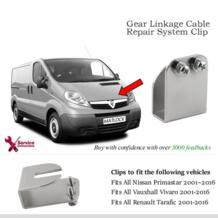5 шт./лот зубчатый соединительный кабель система ремонта зажим для Vauxhall Vivaro nissan Primistar renault Trafic VOLM 32988217669