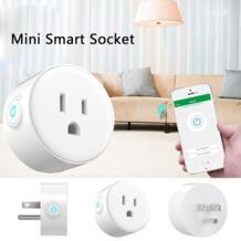 Главная Smart Разъем Smart Plug Wi-Fi с поддержкой Мини Точек умная розетка Управление Ваш Электрический дэвов 10 августа No name 32859027261