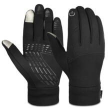 взрослые зимние перчатки профессиональные на открытом воздухе езда на велосипеде Бег Сенсорный экран перчатки зимние спортивные перчатки для мужчин и женщин Vbiger 32839683174