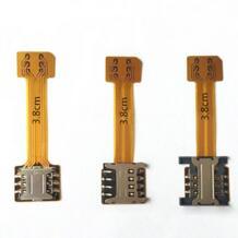 1000 шт. оптовая продажа гибридный двойной Dual SIM карты Micro SD адаптер Extender нано сим адаптер для Xiaomi Redmi Note 3 3 S Pro премьер Kinganda 32803441614