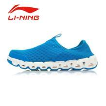 Li-Ning Для мужчин летние Slip-On Быстросохнущие кроссовки Li Ning противоскользящие сетки удобные простые для улицы нескользящие спортивные Спортивная обувь AHLJ007 No name 32625503884