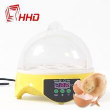 Низкая цена Китай цифровой Температура Малый питомнике 7 мини инкубатория яйцо инкубатор Хэтчер для Курица Утка Птица голубь перепела No name 32481076035