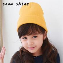 Snowshine YLW Детские шапочки мальчика Обувь для девочек мягкая шляпа дети зима теплый детский вязаный Кепки Бесплатная доставка No name 32750026625