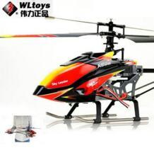 WL игрушки V913 Sky Dancer 4 Каналы FP вертолет 2,4 ГГц w/Встроенный гироскоп v913 игрушки вертолет модель бесплатная доставка STTOPSTAR 1090975492