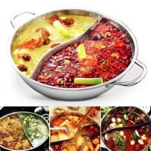 34 см нержавеющая сталь мандарин кастрюля для приготовления утки 2 захвата 2 Вкус горячий горшок кухня пособия по кулинарии инструмент-30 AsyPets 32878552975
