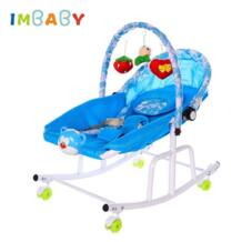 Disassemble Metal Baby Cradle With Light Music Player Cradle Swings For Baby Children Bassinet Rocking Chair For Newborns IMBABY 32915566685