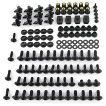 Полный комплект обтекатель шайба крепежа полный обтекатель комплект болтов Винты Гайки для Honda CB650F CRF1000L NC700S X 750 s X ST1100 ST1300 Xracingmoto 32959207597