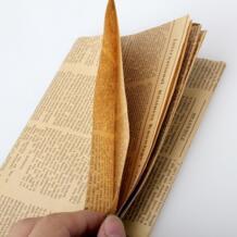 Обертывание Бумаги ping Винтаж новости бумага подарок обертывание Artware упаковка посылка пакет бумага Рождество Kraft бумага книга Цвет аксессуары 52x75 см No name 32762662544