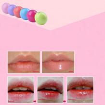 Органический приукрашивать губу бальзам из натуральных трав, круглая блеск для губ помада для губ фрукты BGVfive 32952734071