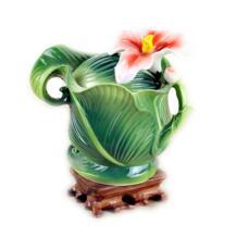 Цвет эмаль Кофе Suagr горшок молоком чайник Набор Керамика костяной фарфор Творческий посуда 18,5 No name 32799692198
