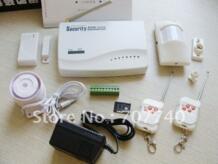 Беспроводная и проводная интеллектуальный GSM безопасность сигнализация система, С 2GSM группы-2 No name 502563380