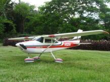 Начинающая радиоуправляемая модель самолета 1410 мм EPO Electric Cessna 182 PNP No name 465222677