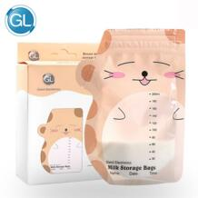 GL милые 30 шт 200 мл мешки для морозильников хранение грудного молока мешки контейнер для детского питания сумки с надписью Milk грудное молоко для кормления грудью сумки No name 32827721134
