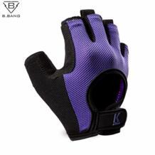 B.BANG половины пальцев фитнес-тренировки перчатки спортивные перчатки человек и женщин открытых многофункциональный перчатки упражнение обучение перчатки No name 32488455167
