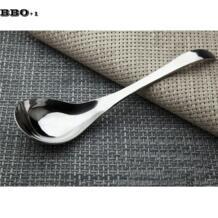 Столовую ложку инструмент для посуды столовые приборы посуда большая ложка для супа из нержавеющей стали ложка для каши большой ложки BBO+1 32815653684