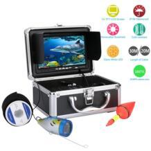 20 м 30 м 1000tvl Подводная охота Видео Камера комплект 12 Светодиодный свет 7 дюймов HD Рыболокаторы видео Регистраторы DVR SANGEMAMA 32798474049