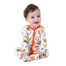Мать гнездо 0-12 м для маленьких Одежда для мальчиков весна/осень комбинезон унисекс с принтом медведя новорожденного одежда для малышей No name 32809950414