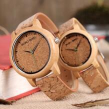 Бобо птица пара часов для мужчин бамбук кварцевые наручные часы деревянный часы для женщин как подарок relogio masculino BOBO BIRD 32795072346