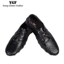 Ygf Новинка весны Для мужчин Повседневное Лоферы Мокасины Обувь из натуральной кожи на плоской подошве Слипоны мужские лоферы дышащая обувь для вождения No name 32800388042
