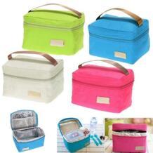 Путешествия Оксфорд Tinfoil изолированная сумка-холодильник для пикника сумка для еды Водонепроницаемая Ланч-бокс для детей взрослых Популярные PEAKINBAGS 32800544822