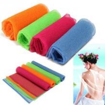 Нейлоновая сетка для ванны и душа для тела стирка губка для отшелушивания полотенце ткань HOUSEEN 32827306540