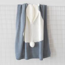 Детские одеяла с заячьими ушками размерные Детские пеленания твердые для маленьких мальчиков и девочек одеяла для От 0 до 8 лет Kacakid 32828057191