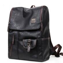 Pu большие пространства кожаные мужские рюкзаки мужские повседневные Молодежные для школы сумки на плечо повседневные сумки Mochilas Гравити Фолз MAIWEINI 32606136127