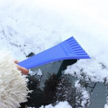 Портативный чистящий инструмент автомобиль, приспособление для демонтажа лобового стекла Лопата пластиковый скребок снега для машины открытый инструмент снега 18*8 см 11 #27 CARPRIE 32956433682