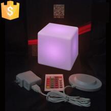 13 см светодиодный квадратный ночник светящийся декоративные светодиодный куб lumineux для настольной лампы/номер свет настроения декоративные 10 шт. No name 32481962234