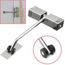 1 шт. автоматический смонтированный механизм для автоматического закрывания двери из нержавеющей стали регулируемый поверхностный доводчик двери 160x96x20 мм XProject 32958503653