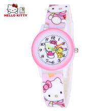 Мультфильм часы Hello Kitty девушка часов детский подарок кварцевые детские наручные часы бренд часы Силиконовые Relogio Montre Enfant Womage 32752800418