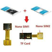 Гибридный двойной SIM карта адаптер Micro SD карты Nano SIM удлинитель адаптер для Android мобильного телефона XIAOMI REDMI NOTE 3 4 3 s премьер-профессионал Kinganda 32797519770