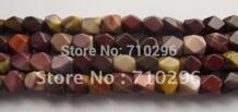 Оптовая 3 пряди/серия Mookaite 12*16 мм Грановитая украшений Бусины для украшений making.40 см/ strand PANGEM 566960448