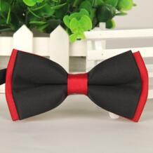 2016 для мужчин черный и красный галстук-бабочка для см 12 см * 6 Галстуки оптовая продажа Галстуки SHENNAIWEI 32265291151
