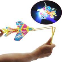 DIY флэш выброса циклотрон легкий самолет рогатки самолетов для детей подарок игрушки челнока Y901 HIINST 32831183520