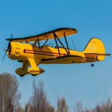 Горячие Продажи RC Warbird Dynam Вако Желтый 1270 мм 50 inch Размах Крыльев PNP JJRC 32656115926