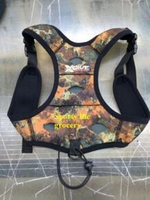 Свинцовые грузила мешок оборудование для дайвинга противовеса свинца жилет индивидуальные Дайвинг привести сумка размер S-XL No name 32615949539