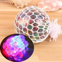 Вспышка светящийся мягкими сетки винограда мяч аутизм Squeeze против стресса игрушки MINOCOOL 32870634090