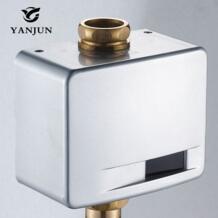 Yanjun автоматическое туалета Клапан Открытые настенное крепление DC6V yj6371 No name 32776220741