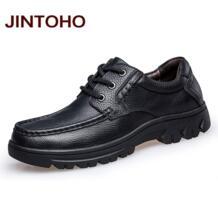 высокое качество Мужские туфли из натуральной кожи на плоской подошве модные Для мужчин платье Обувь из итальянской кожи официальные мужские Мокасины обувь «Zapatos» JINTOHO 32704245147