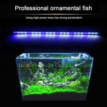 2 цвета аквариума светодиодный свет амфибия Применение белого и синего цвета/красные, синие зеленый свет Цвет погружной Водонепроницаемый клип лампы Cimiva 32814206135