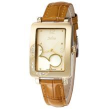 Топ леди Для женщин кварцевые часы Японии мультфильм милый Мышь Мода часы женские часы браслет кожа для школьниц подарок коробка Юлий 32243137455