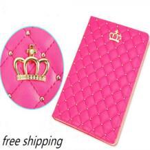 Для Ipad Mini 1 mini 2 mini 3 корона Алмаз кожаный чехол для Ipad роскошные мягкие кожаные Стенд Смарт Tablet чехол для Ipad Mini cose bigmzpai 32339676068