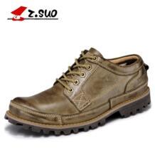 Z. бренд suo мужские из натуральной кожи повседневная мужская обувь модные ретро кожаные оксфорды мужские zapatos hombre Размер: 38-45 No name 32220439915