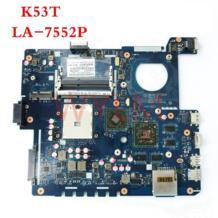 K53T QBL60 LA-7552P USB3.0 DDR3 материнская плата для ноутбука ASUS K53TA K53TK K53T X53T X53TA X53TK Тетрадь плата WYLMDZ 32809557796